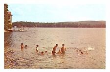 Camp Notre Dame Postcard Lake Spofford New Hampshire Vintage Unposted