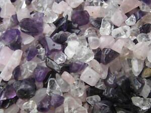 100g Splitter 6-20mm Halbedelstein Mix Perlen Beads top neu 8393