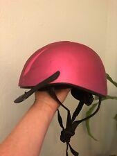 Ovation Metallic Schooler Riding Helmet - Fuchsia - XS/S 48-52 OV