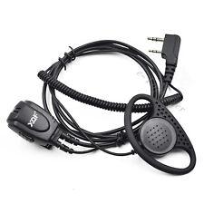 Surveillance Earpiece/Headset Mic PTT for Baofeng GT-3TP UV6R UV5X Walkie Talkie