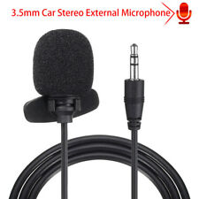 3.5mm Microphone Car Stereo GPS bluetooth Enabled Audio DVD External Mic