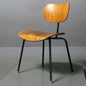 Stuhl SE 68, Wilde+Spieth, Egon Eiermann SE68, Chair, Teak Vintage 8496
