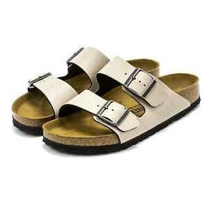 Birkenstock Women Men NEW Arizona Classic Cork Footbed 2-Strap Slides Sandal
