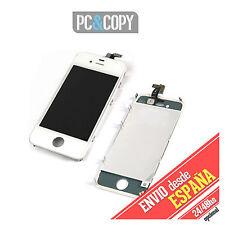 PANTALLA LCD COMPLETA + TACTIL PARA IPHONE 4 4G DIGITALIZADOR CRISTAL BLANCO