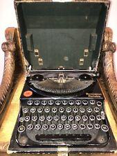 Vintage Remington Portable Typewriter  With Case - Office Retro