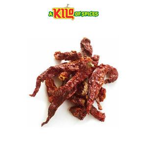 Kashmiri Chillies Chilli Whole Dried A* Grade Premium Free P&P 100g - 10kg