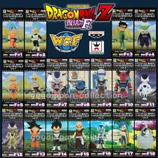 DRAGONBALL Z Resurrection F WCF World Collectable Figure Complete set