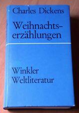 Weihnachtserzählungen, Charles Dickens, Buch, Winkler-Sonderausgabe!