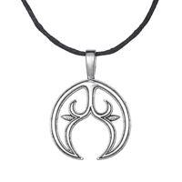 Pagan Lunula Cresent Moon Pendant Slavic Female Fertility Talisman Necklace