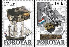 Faroer 2016    Wrak vd Westerbeek VOC schip  ship      postfris/mnh