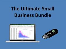 Ultimate Excel Spreadsheets Bundle (40+Tools) - Delivered on USB Drive