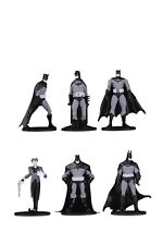 "DC COMICS BATMAN BLACK & WHITE (ONE) BLIND BAG 3.75"" MINI Figure SERIES 3 NEW"