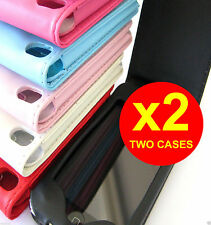 2 x Apple iPod Touch 4 4th Slim Leather Pouch Case Cover (Black is out of stock)