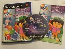 PLAYSTATION 2 PS2 DORA THE EXPLORER JOURNEY TO THE PURPLE PLANET COMPLETE PAL