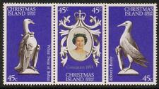 CHRISTMAS ISLAND SG96/8  1978 CORONATION MNH