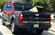 """09-16 Ford Super Duty/F-250 Tailgate Trim Molding Outline """"SUPERDUTY"""" Cover Door"""