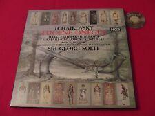 3 LP Box Tchaikovsky: Eugene Onegin Sir Georg Solti Alldis Choir UK   Sealed OVP