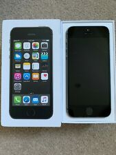 USED ***REAL*** APPLE IPHONE 5S MOBILE PHONE IN SPACE GREY WITH BOX WAS ON EE