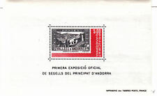 Andorra-French - 1982 - SC 298 - NH - Souvenir sheet