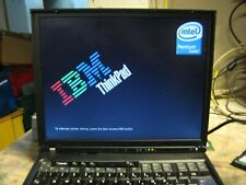 IBM LENOVO ThinkPad T42 LPT Working No HDD No Charger
