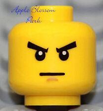 NEW Lego Ninjago Zane Minifig HEAD -White Ninja DX ZX Kendo Head- Police/Soldier