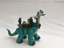 Fisher Price Imaginext Bleu Apatosaurus bataille Dinosaure.