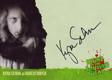 Night Of The Living Dead Autograph Trading Card A6 Kyra Schon