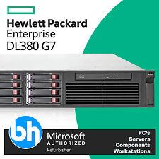 HP ProLiant DL380 G7 Rackable Server 2x Intel Quad Core Xeon L5630 8GB RAM iLO3