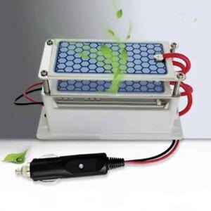 Ceramic Plate Ozone Generator 10g/h 10000mg/h Car Air Purifier Ozonizer DC12V