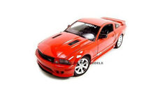 2007 FORD MUSTANG SALEEN S281E RED 1:18 DIECAST MODEL CAR BY WELLY 12569