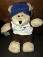 Starbucks bearista bear Destination 2010 Poland .US Seller!!NEW with Tags.