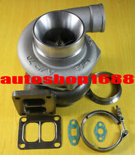 "GT35 T70 T66 TO4Z T04Z T4 twin scroll 1.00 a/r .70 a/r 3.25"" v-band Turbocharger"
