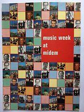 MUSIC WEEK MAGAZINE    JANUARY 20 1996   MUSIC WEEK AT MIDEM 1996   LS