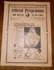 More details for pre war prog tottenham hotspur v blackburn rovers fac 3rd round 8th jan 1938