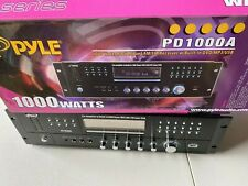 Pyle 1000 Watts PD1000A AM/FM Receiver Stereo W/Built-in DVD/MP3/USB  g1