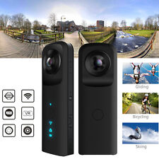 Dual Lens HD 360° Degree Wifi Camera VR Panoramic Camcorder Sports Action DV