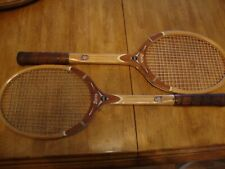 2 Vintage Hi Point Davis Tennis Rackets