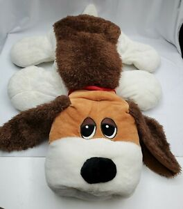"""2015 Hasbro Large 32"""" Pound Puppy Giant Stuffed Plush Pillow Excellent Condition"""