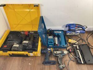 job lot power tools 240v And 110v Majors Draper Ryobi