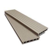Composite Decking Clarity Ash Sample Wood Plastic Composite Ecoscape UK WPC