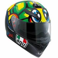 AGV K3 SV Tartaruga Turtle Valentino Rossi VR46 Motorcycle Helmet | All Sizes