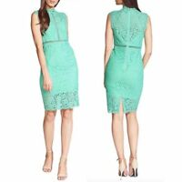 BARDOT SHEATH COCKTAIL DRESS IN MINT GREEN SIZE XS NWT