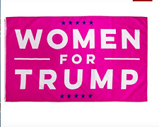 New listing New Women for Trump 3x5 Foot Make America Great Pink Free Shipping!