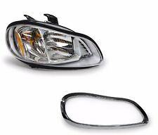 2002 2003 2004 2005-2016 Freightliner M2 100 106 112 Headlamp with Bezel - RIGHT