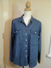 country road denim shirt  L as bought