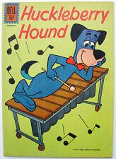 HUCKLEBERRY HOUND #15 FN Silver Age Gold Key Hanna-Barbera Comic 1962 ~