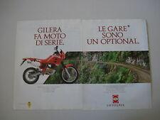 advertising Pubblicità 1990 MOTO GILERA RC 125 TOP RALLY