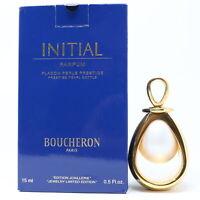 Initial by Boucheron Parfum/Perfume 0.5oz/15ml Splash Damaged Box