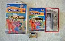 V.READER SESAME STREET THE HAPPY SCIENTISTS game AND FREE NEW BOOK LIGHT!