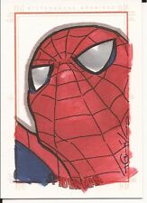 Spider-Man Archives 2009 SPIDERMAN sketch card hand drawn Dan QUILES Marvel